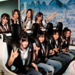 富士急ハイランド『高飛車』でSKE48が絶叫!