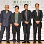 第24回東京国際映画祭会見に役所広司が登壇。