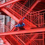 スパイダーマン、東京タワーにも出没!
