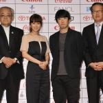 『第25回東京国際映画祭』記者会見