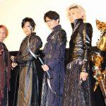 最新作は3騎士が再集結!『牙狼<GARO>神ノ牙-KAMINOKIBA-』初日舞台挨拶