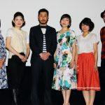 内田慈、渋川のカツラに「気付かなかった」『神と人との間』初日舞台挨拶