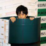 土管からドカンと岩永徹也!写真集「Messenger」発売記念イベント