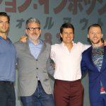トム、人生を映画に捧げる『ミッション:インポッシブル/フォールアウト』記者会見